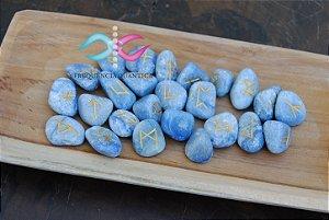 Kit de Runas Quartzo Azul