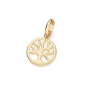 Pingente De Árvore Da Vida Folheado A Ouro Rommanel 541880