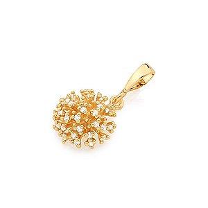Pingente buque de flores Folheado A Ouro Rommanel 541914