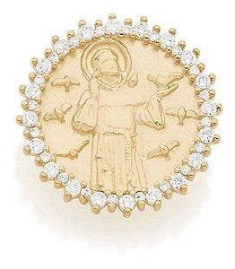 Pingente Rommanel de Sâo francisco De Assis 542145