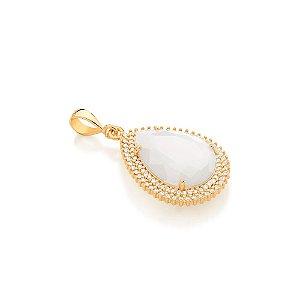 Pingente de Cristal Folheado A Ouro Rommanel 542246