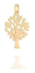 Pingente Árvore Da Vida Folheado A Ouro Rommanel 542247