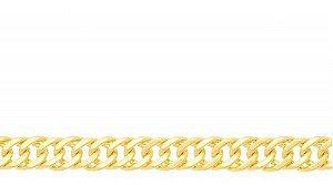 Corrente Masculina Folheado A Ouro Rommanel 530490