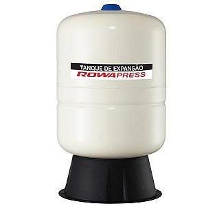 Vaso de Expansão 35 litros ROWA - HORIZONTAL - AÇO CARBONO