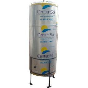 Boiler 3000 litros / ALTA PRESSÃO / VERTICAL / Center Sol