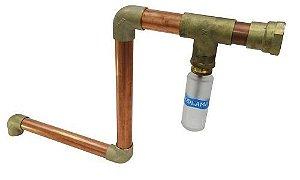 Kit instalação 1 1/2'' p/ Gerador de vapor CL de 12 kW e geradores de vapor Steam Inox - SODRAMAR