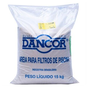 Areia Especial para Filtro DANCOR / 15Kg