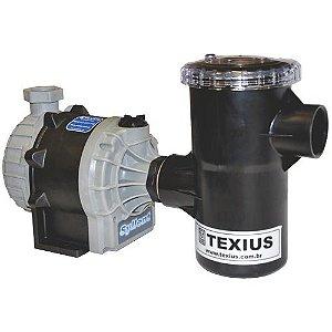 Bomba c/ Pré-Filtro Texius TBHA-PFR 1/4CV 220v
