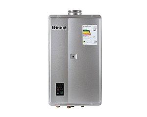 Aquecedor a Gás Rinnai REU-E33 - FEH PRATA - GN - 32,5 L