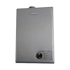 Aquecedor De Água A Gás IN-230D PRATA GLP INOVA - 27,5 L/min
