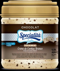 Recheio Creme De Cookies Zero 1,010kg - Duas Rodas