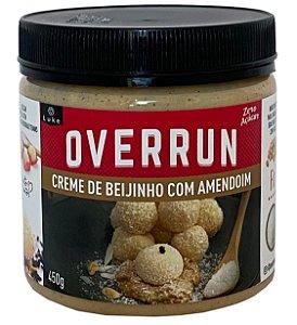 Creme De Beijinho C/amendoim Zero Overrun 450gr