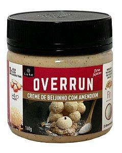 Creme De Beijinho C/amendoim Zero Overrun 160gr