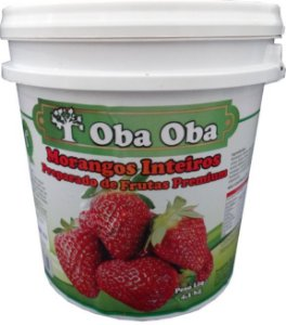 Obaoba Preparado De Morango 4,1kg
