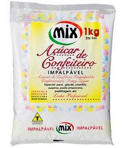 Acucar De Confeiteiro 1kg - Mix