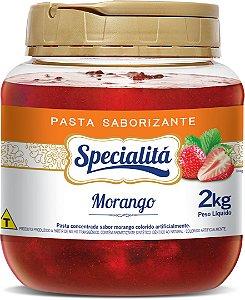Morango Pasta Sab. 2kg - Duas Rodas