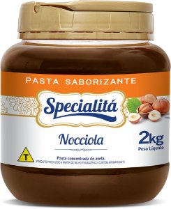 Avela Nocciola - Pasta Sab. 2kg - Duas Rodas