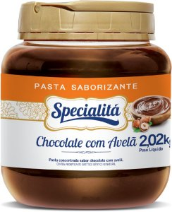 Chocolate C/ Avelã Pasta Sab. 2kg - Duas Rodas