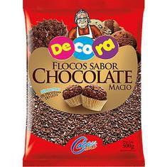 Flocos Macios Sabor Chocolate 500gr - Cacau Foods