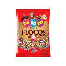 Flocos Macios Colorido 500gr - Cacau Foods