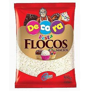 Flocos Macios Branco 500gr - Cacau Foods