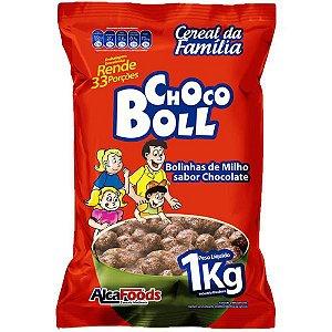 Sucrilhos Choco Boll 1kg - Alcafoods