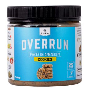Overrun Cookies 500gr - Luke Alimentos