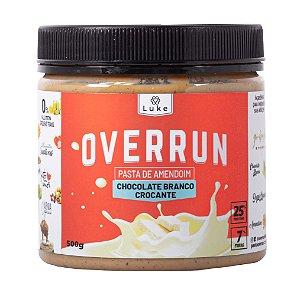 Overrun Choc. Branco 500gr- Luke Alimentos