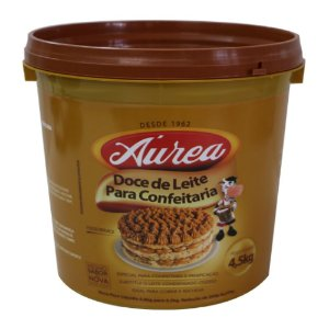 Doce De Leite Para Confeitaria 4,5kg - Aurea