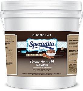 Recheio Crema De Chocolate Ao Coco Zero 4kg - Duas