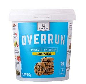 Overrun Cookies Crocante 1,005kg - Luke Alimentos
