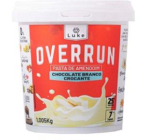 Overrun Choc. Branco Crocante 1,005kg - Luke Alime