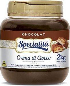 Recheio Crema De Ciocco 2kg - Duas Rodas