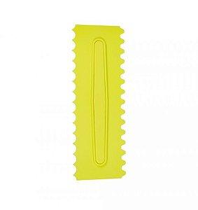 Espatula Decorativa 3 Amarela - Bluestar