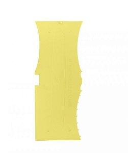 Espatula Decorativa 13 Amarela - Bluestar