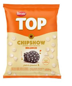 Chipshow Choc. Branco 1,050kg - Harald