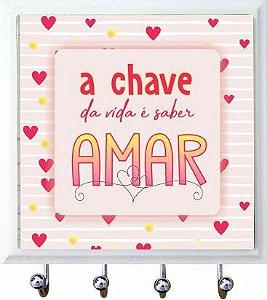 1470-055 Porta chaves Azulejo - Amar