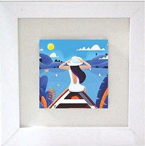 3001-030 Quadro de azulejo Decor - Barco