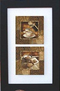 3002-012 Quadro de azulejo Decor - Café