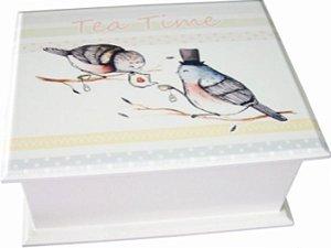 6003-002 Caixa de Chá - Pássaro