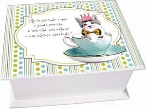 6003-003 Caixa de Chá - Gato