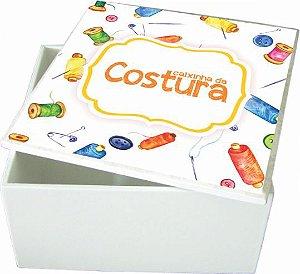 6007-001 Caixa quadrada - Costura