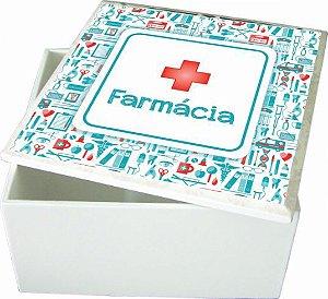 6007-002 Caixa quadrada - Farmácia