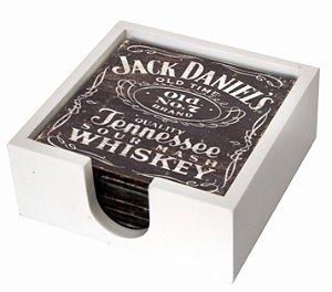 1800P-003 Suporte de copo Azulejo - Jack Daniels