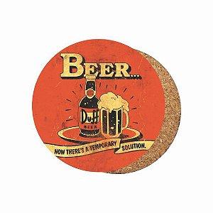1880-C009 Suporte de copo Compensado - Duff Vintage