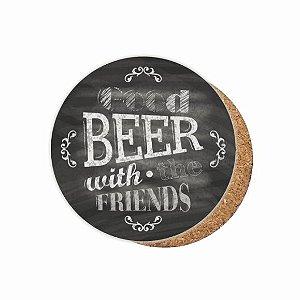 1880-C010 Suporte de copo Compensado - Beer Friends