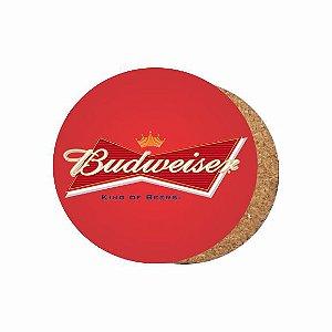 1880-C036 Suporte de copo Compensado - Budweiser