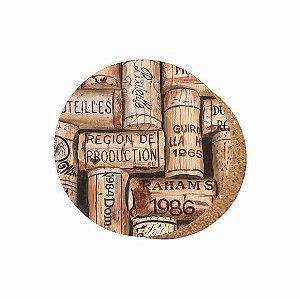 1880-C041 Suporte de copo Compensado - Rolhas de Vinho