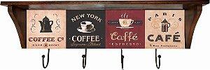 3014N-005 Prateleira de azulejo - Café