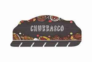 2208 Porta espeto - Churrasco